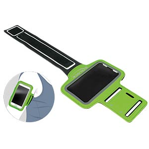 Sports armband for smartphones, green DELOCK 20644