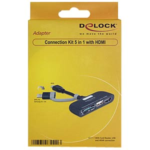 5-in-1 connection kit with HDMI DELOCK 65511