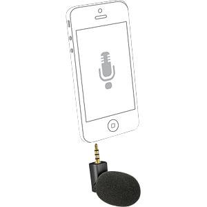 Mikrofon für Smartphone-Tablet Klinke 3,5 mm schwarz DELOCK 65894