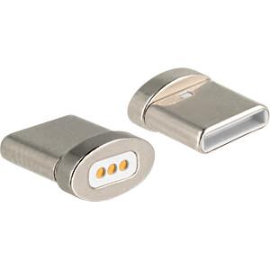Magnetischer Adapter Type-C™ Stecker für Ladekabel DELOCK 65930
