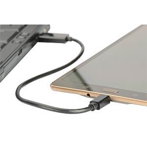 OTG USB Daten-/Ladekabel / Micro SD-Slot EDNET 31517