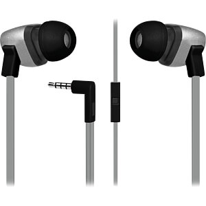 Headset, In Ear, silber FONTASTIC 238772