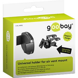 Universal holder for air vent mount GOOBAY 40732