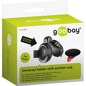 Universal holder with suction cup GOOBAY 40733