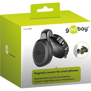 Samochodowy uchwyt magnetyczny do smartfona GOOBAY 45389