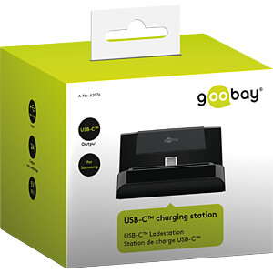 USB-C Ladestation, USB 2.0 Kabel 1,0 m GOOBAY 62076