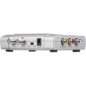Audio Video Modulator, stereo, Cinch, silber GOOBAY 67249