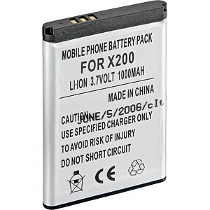 Ersatzakku für Samsung, SGH-B320 / SGH-C120, Li-Ion, 550 mAh FREI