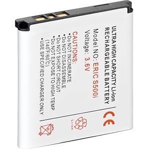 Ersatzakku für Sony Ericsson, C510 / C902, Li-Ion, 900 mAh FREI