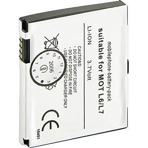 HCP 5051-LI - 650mAh Li-Ion MOTOROLA KRZR/L2/L6/L7