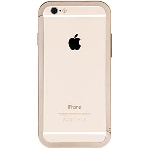 Aluminium shield for iPhone 6, gold JUST MOBILE AF-268GD