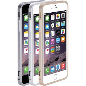 Aluminium shield for iPhone 6 Plus, silver JUST MOBILE AF-269SI