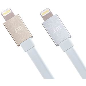Lightning auf USB-Kabel, 0,1 m, silber JUST MOBILE DC-258SI