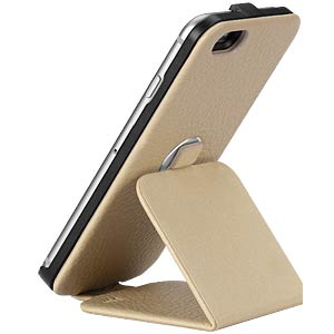 Rotating leather stand case for iPhone 6, beige JUST MOBILE RC-168BG