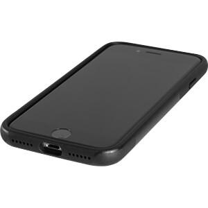 Sporty Case, beschermhoes voor iPhone 7, zwart KMP PRINTTECHNIK AG 1416630501