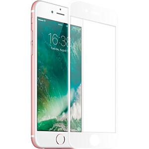 Schutzfolie für iPhone 7 Hartglas Displayschutz, weiß KMP PRINTTECHNIK AG 1416636002