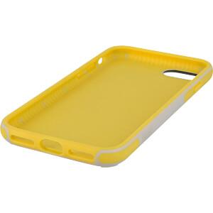 Sporty Case - beschermhoes voor iPhone 8, grijs/geel KMP PRINTTECHNIK AG 1417650510