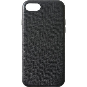 Leder Case, echt lederen beschermhoes voor iPhone 8, zwart KMP PRINTTECHNIK AG 1417650601