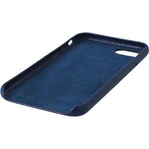 Leder Case, Echtleder Schutzhülle für iPhone 8, blau KMP PRINTTECHNIK AG 1417650605