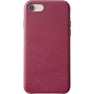 Genuine leather Case for iPhone 8, red KMP PRINTTECHNIK AG 1417650622