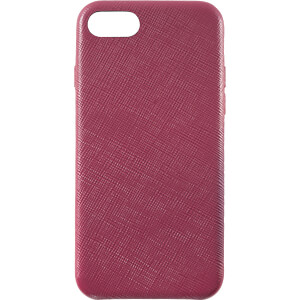 Leder Case, Echtleder Schutzhülle für iPhone 8, rot KMP PRINTTECHNIK AG 1417650622