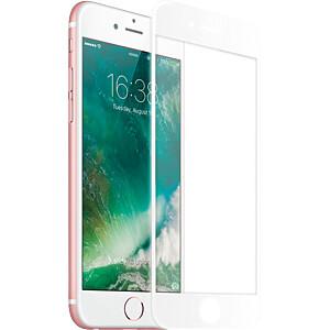 Schutzfolie für iPhone 8 Hartglas Displayschutz, weiß KMP PRINTTECHNIK AG 1417656002