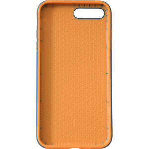 Sporty Case, Schutzhülle für iPhone 8 Plus, blau/orange KMP PRINTTECHNIK AG 1417660505