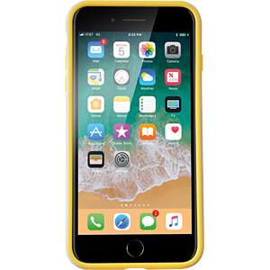 Sporty Case, Schutzhülle für iPhone 8 Plus, grau/gelb KMP PRINTTECHNIK AG 1417660510