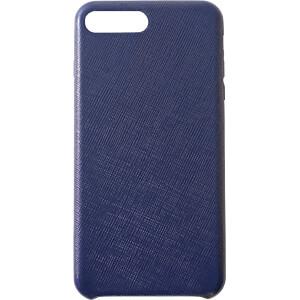 Leder Case, Echtleder Schutzhülle für iPhone 8 Plus, blau KMP PRINTTECHNIK AG 1417660605