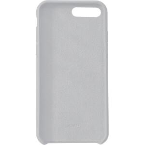 Siliconen Case, beschermhoes voor iPhone 8 plus, business grijs KMP PRINTTECHNIK AG 1417660710