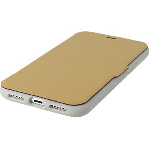 Bookcase, Schutzhülle für iPhone X, magnetisch, braun KMP PRINTTECHNIK AG 1417670420