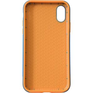 Sporty Case, Schutzhülle für iPhone X, blau/orange KMP PRINTTECHNIK AG 1417670505