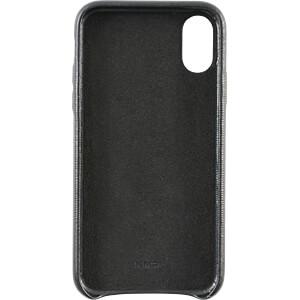 Leder Case, echt lederen beschermhoes voor iPhone X, zwart KMP PRINTTECHNIK AG 1417670601