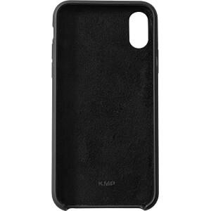 Silikon Case, Schutzhülle für iPhone X, schwarz KMP PRINTTECHNIK AG 1417670701