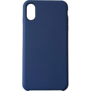 Silikon Case, Schutzhülle für iPhone X, blau KMP PRINTTECHNIK AG 1417670705