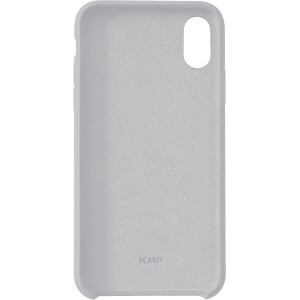 Silikon Case, Schutzhülle für iPhone X, business grau KMP PRINTTECHNIK AG 1417670710