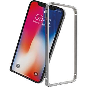 Aluminiowy bumper, ramka ochronna do iPhone'a X, srebrny KMP PRINTTECHNIK AG 1417673003