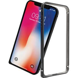 Alumimium-Bumper, Schutzrahmen für iPhone X, grau KMP PRINTTECHNIK AG 1417673010