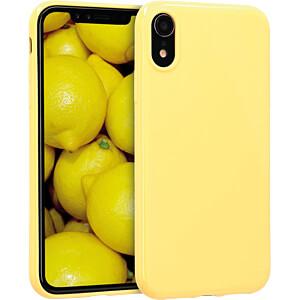 TPU Case für Apple iPhone XR (6.1) Gelb matt KWMOBILE 45907.49