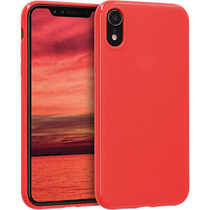 TPU Case für Apple iPhone XR (6.1) Rot matt KWMOBILE 45907.51