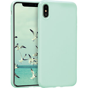 TPU Case für Apple iPhone XS Max (6.5) Mintgrün matt KWMOBILE 45908.50