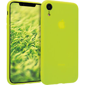 TPU Case für Apple iPhone XR (6.1) Neon Gelb KWMOBILE 45918.75