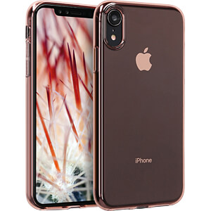 Crystal TPU Case für Apple iPhone XR (6.1) Rosegold KWMOBILE 45919.81