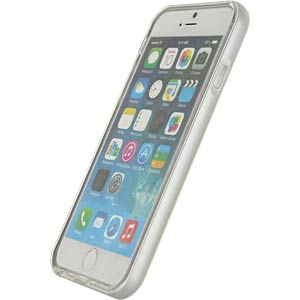 Gelhoesje Apple iPhone 6 / 6s zilver MOBILIZE 21925