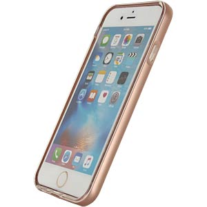 Gelhoesje Apple iPhone 6 / 6s roze MOBILIZE 22268