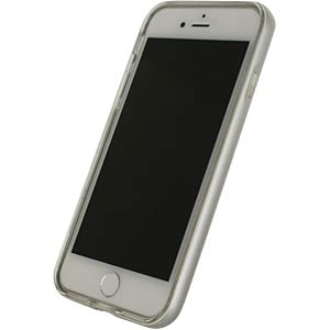 Gelhoesje Apple iPhone 7 zilver MOBILIZE 22715