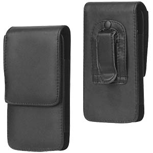 Leather case with belt clip for iPhone 5/5s FREI