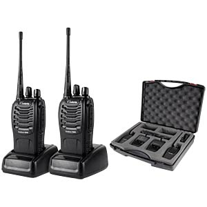Licence-free PMR/walkie-talkie DETEWE 208090