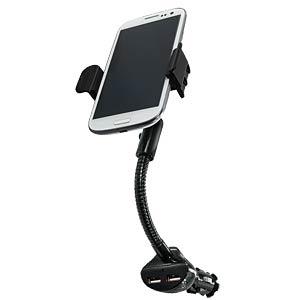 Kfz Halterung, universal, für Smartphone, Ladegerät LOGILINK PA0121