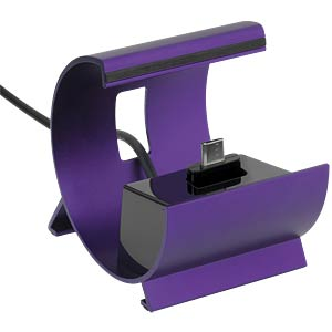 Docking station with micro USB port, purple PEDEA 60050133